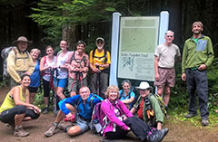 Appalachian Mountain Club visit to Olympic National Park July 2016